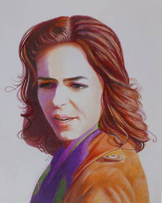 Painting - Self-portrait by Constance DRESCHER