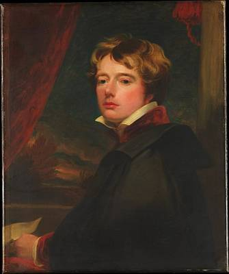 Harlow Painting - Self-portrait by George Henry Harlow