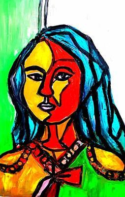 Painting - Self Portrait  by Hae Kim