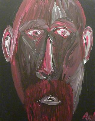 Painting - Self Portrait by Joshua Redman