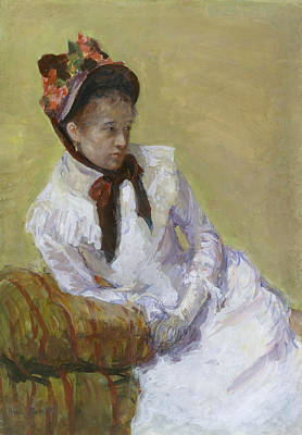 Painting - Self-portrait by Mary Cassatt
