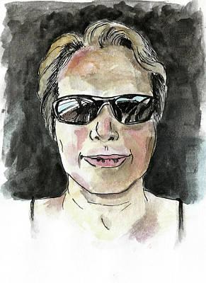 Painting Royalty Free Images - Self-portrait Royalty-Free Image by Masha Batkova