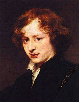 Digital Art - Self Portrait  by Sir Antony van Dyck