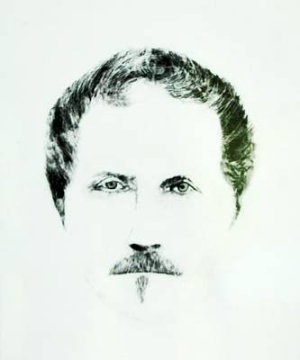 Drawing - Self Portrait by Tony Murray