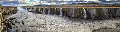 Photograph - Selfoss Waterfall by Alexey Stiop