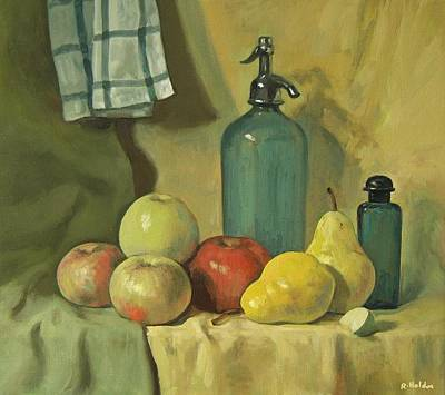 Painting - Seltzer And Fruit by Robert Holden
