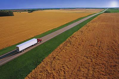 Photograph - Semi-trailer Truck by Don Hammond
