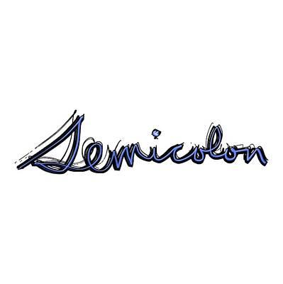 Drawing - Semicolon by Bill Owen