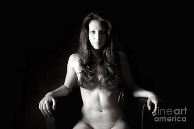 Female Body Photograph - Sensual Nude Portrait by Jochen Schoenfeld