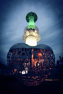 Photograph - Seoul N Tower by Hyuntae Kim