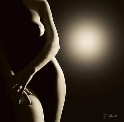Photograph - Sepia Nude by Joe Bonita