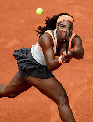 Serena Williams 4 Art Print