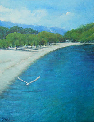Nz.impressionist Painting - Serenity by Jane See