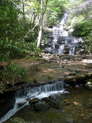 Photograph - Set Rock Creek Falls by Joel Deutsch