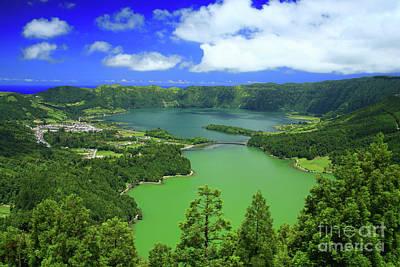 Sete Photograph - Sete Cidades, Azores by Gaspar Avila