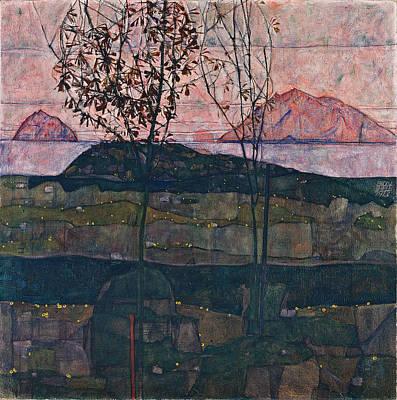 Setting Sun 1913 Art Print