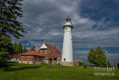 Photograph - Seul Choix Lighthouse by David Arment