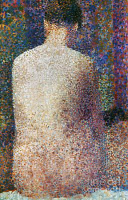 Seurat Photograph - Seurat: Model, C1887 by Granger