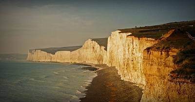 Eastbourne Photograph - Seven Sisters by Sharon Lisa Clarke