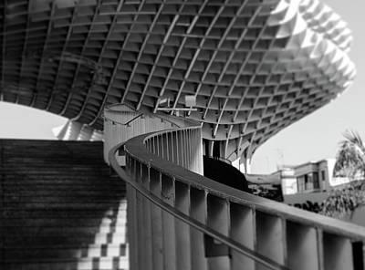 Photograph - Seville - Metropol Parasol by Andrea Mazzocchetti