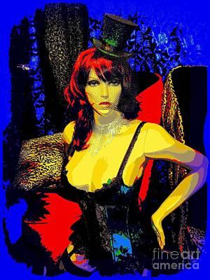 Digital Art - Sexy Sadie by Ed Weidman