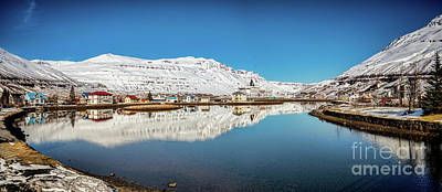 Photograph - Seydisfjordur, East Iceland by Colin and Linda McKie