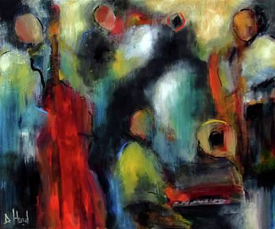 Painting - Shades by Debra Hurd