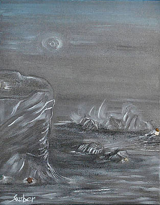 Painting - Shades Of Grey by Suzanne Surber