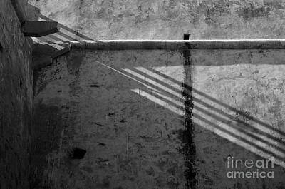 Tourism Photograph - Shadow Detail In Saint Sebastian Fort by Angelo DeVal