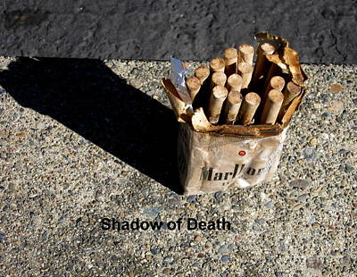 Photograph - Shadow Of Death by Marie Neder
