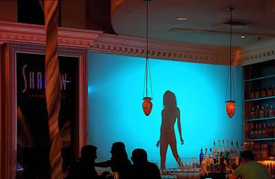 Photograph - Shadow On The Wall by Viktor Savchenko