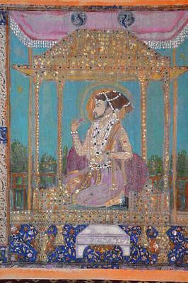 Painting - Shah Jahan by Vikram Singh