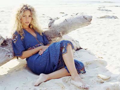 Shakira Digital Art - Shakira by Barbara Elvins