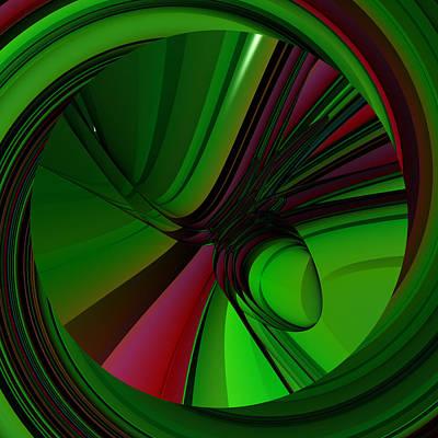 Digital Art - Waistbandy by Andrew Kotlinski