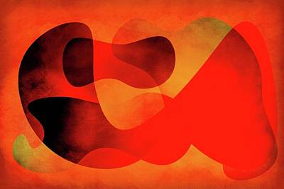 Digital Art - Shapes 1 by Steven Greenbaum