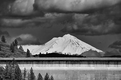 Photograph - Shasta Dam by Sagittarius Viking