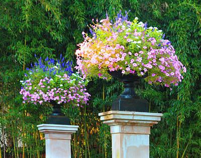 Photograph - Shaws Garden Gate by John Lautermilch