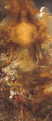 Painting - She Shall Be Called Woman by George Frederic Watts