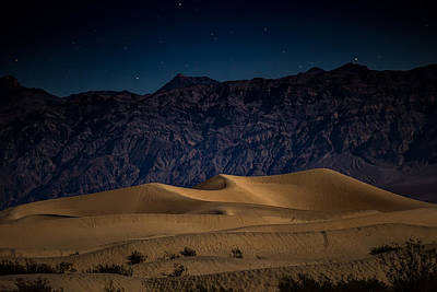 Death Valley Photograph - She Sleeps Under The Stars by Peter Tellone