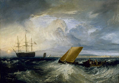 Sun Painting - Sheerness As Seen From The Nore by JMW Turner