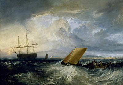 Painting - Sheerness As Seen From The Nore by Joseph Mallord William Turner