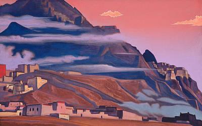 View Painting - Shekar Dzong by Nicholas Roerich