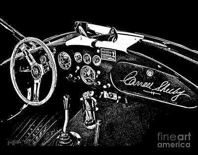 Photograph - Shelby Interior by Tom Griffithe