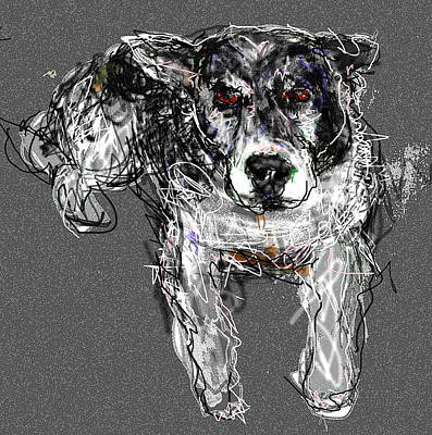 Digital Art - Shelby by Joyce Goldin