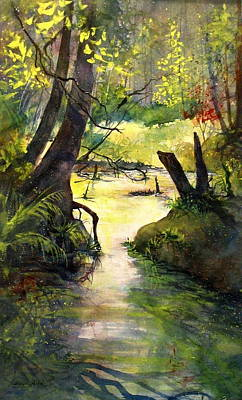 Grafton Painting - Shelter Valley Summer by Madelaine Alter