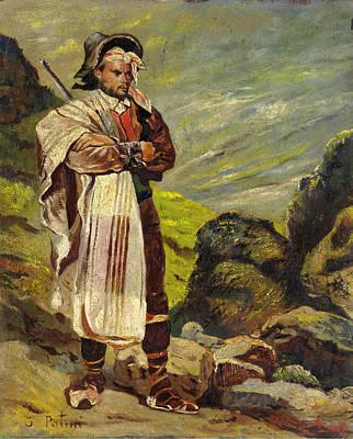 Painting - Shepherd by Teofilo Patini