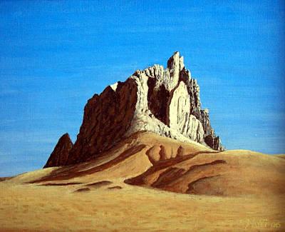 Desert Art Painting - Ship Rock by Frederic Kohli