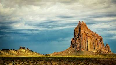 Photograph - Shiprock, New Mexico by Flying Z Photography by Zayne Diamond