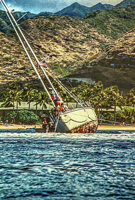Photograph - Shipwrecked by Frank Vargo