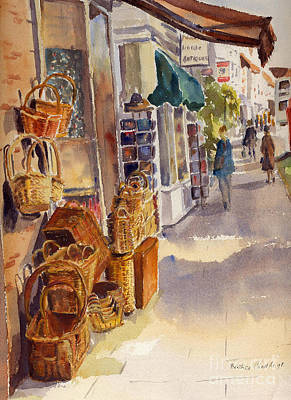Shopping In Tenterden Art Print